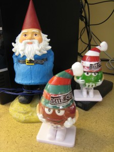 Travelocity Gnome is going to need more backup than the M&Ms kids to protect my digital footprint these days.