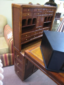 Look at the drawers and cubby holes!