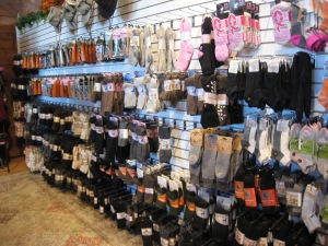 Alpaca sock wall of my dreams!